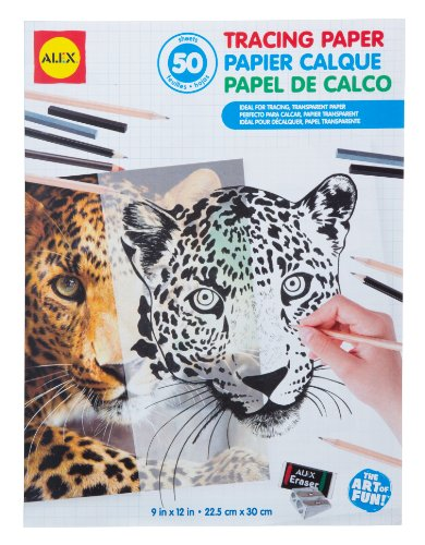 ALEX Toys Artist Studio Tracing Paper - 50 Sheets (Tracing Sheets compare prices)
