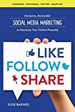 Social Media Marketing: Like, Follow, Share - Social Media Marketing to Maximize Your Online Potentia
