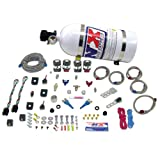 Nitrous Express 20927-10 35-75 HP x 2 Sport Compact EFI Dual Stage System with 10 lbs. Bottle