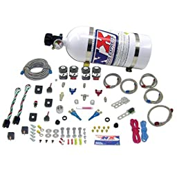 Nitrous Express 20224-12 50-150 HP x 2 EFI Dual Stage with 12 lbs. Composite Bottle for GM