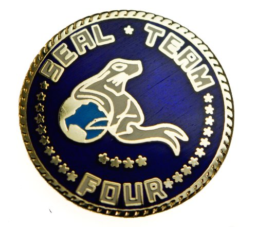 Seal Team 4 Four Us Navy Hat Or Lapel Pin D22