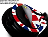 Union Jack 02 Decal Style Skin (fits genuine Beats Mixr Headphones - HEADPHONES NOT INCLUDED)