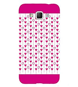 Hanging Hearts 3D Hard Polycarbonate Designer Back Case Cover for Samsung Galaxy Grand Max G720
