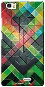Fashionury Back Case Cover For Lava V2-Print1226