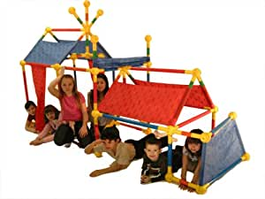 Toobeez 114 Piece Super Fort Kit
