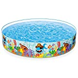 """Intex Ocean Reef Snapset Inflatable Pool, 8 X 18"""", For Ages 3+"""