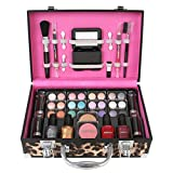 Ivation Carry All Makeup Train Case w...