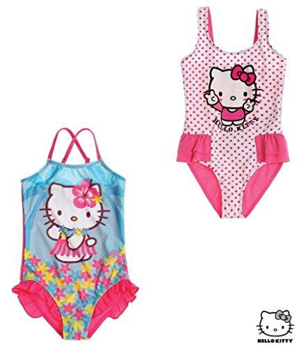 Hello Kitty Ragazze Costume da bagno - turchese - 128