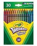 Crayola 30ct Twistables Colored Pencils