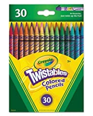 Crayola 30 Count Twistable Colored Pe…