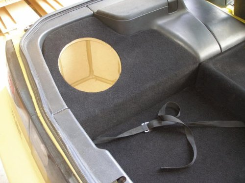 """Zenclosures 1990-1996 Nissan 300Zx 1-10"""" (Drivers Side) Subwoofer Box (2 Seater Only)"""