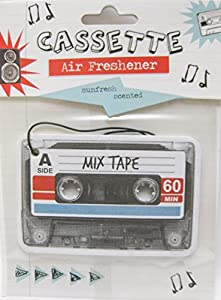 Retro Cassette Tape Air Freshener - Sunfresh Scented