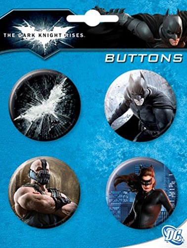 Ata-Boy Dark Knight Rises 4 Button Set