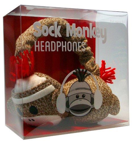 Sock Monkey Headphones