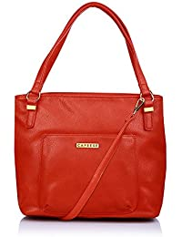 Caprese Andrea Women's Tote Bag (Red)