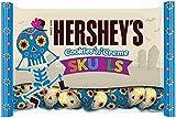 Pack of 2: Cookies 'n Creme Halloween Chocolate Skulls 10oz.
