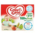 Cow and Gate Apple and Pear 4 Fruit Pots (Pack of 6)