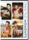Love Me Tender/Kid Galahad/Wild In the country/Flaming Star