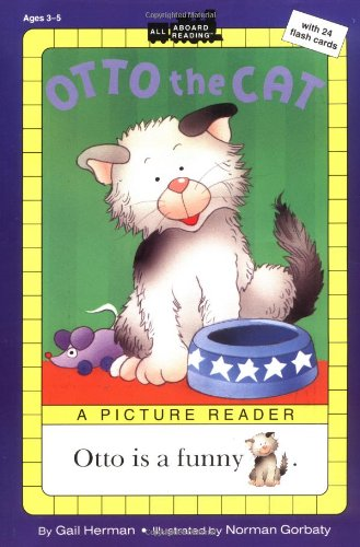 Otto the Cat: A Picture Reader with 24 Flash Cards (All Aboard Reading)