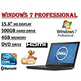 2017 Edition ~ Dell Inspiron 15 3000 I3558 Laptop ~ Intel Core I3-5005U Processor ~ 4GB RAM ~ 500GB HDD ~ DVDRW...