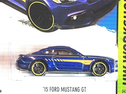 Hot Wheels Blue 2015 Mustang GT!! HOT!! VHTF!