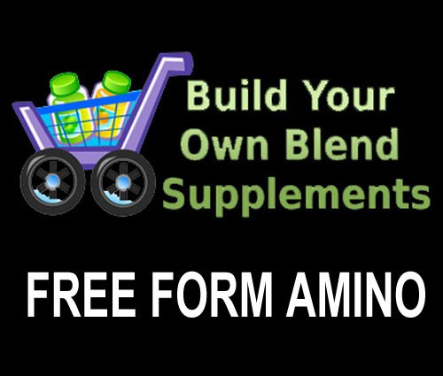 500 Grams (1.1 Lbs) Free Form Amino Acids Bulk Powder
