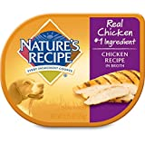 Nature's Recipe Chicken Recipe In Broth Grain Free Wet Dog Food, 2.75-Ounce (Pack of 24)