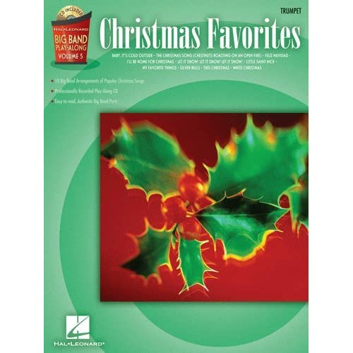Christmas Favorites   Trumpet   Big Band Play Along Volume 5   Bk+CD