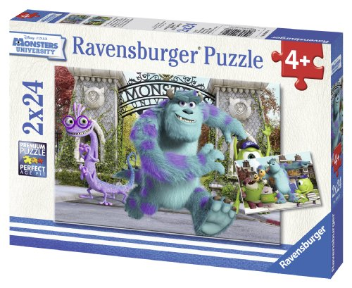 Ravensburger Disney Pixar: At Monsters University (2 x 24-Piece) Puzzles in a Box