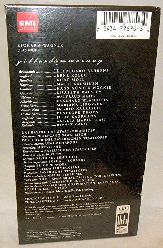 Der Ring des Nibelungen - Gotterdammerung [VHS] (Wagner Nibelungen Hans compare prices)