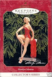 Hallmark Keepsake Ornament Marilyn Monroe Collector's Series 1999