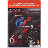 Backer Card For: Gran Turismo 5: The Real Driving Simulator Ps3 (Not The Video Game)