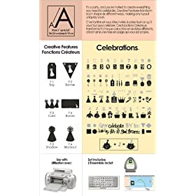 Cricut Shapes Cartridge, Celebration