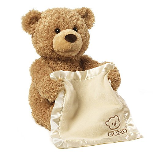 Gund Peek-A-Boo Teddy Bear Animated Stuffed Animal (Gund Bears compare prices)