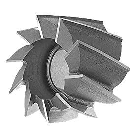 "Cobalt Shell End Mills - Finishing Dia.: 2-1/2"", LOC: 1-5/8"", Hole Dia.: 1"""