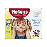 Huggies Simply Clean Baby Wipes,  Ref...