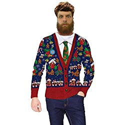 Faux Real - Humping Ginger Bread Cookie Cardigan