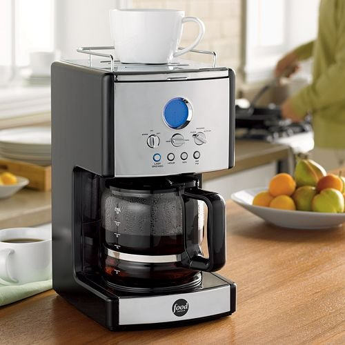 Food Network 12 Cup Programmable Coffee Maker