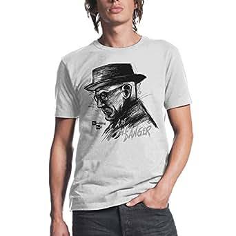 Breaking Bad Men's I Am The Danger Bright White T-Shirt S