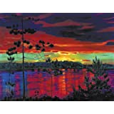 Artifact Puzzles - Rylov Sunset Wooden Jigsaw Puzzle
