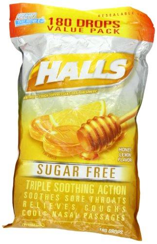 halls mentho lyptus suger free honey lemon 180 drops 312546633148. Black Bedroom Furniture Sets. Home Design Ideas