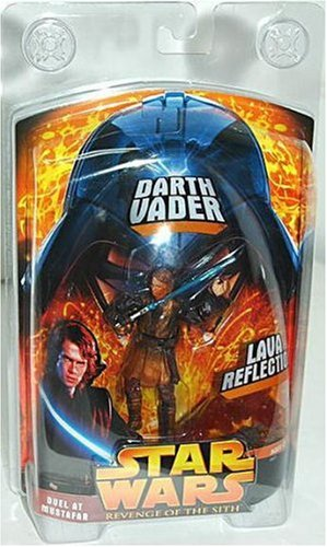 Star Wars Revenge of the Sith Lava Reflection Darth Vader Action Figure