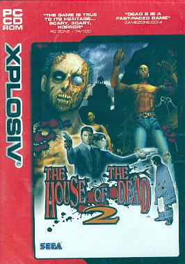 [CD-ROM] The House Of The Dead 2 by Sega PC