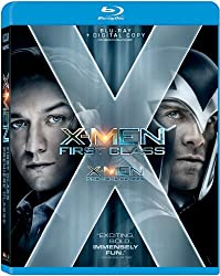 X-Men: First Class (Blu-ray + Digital Copy Combo) [Blu-ray]