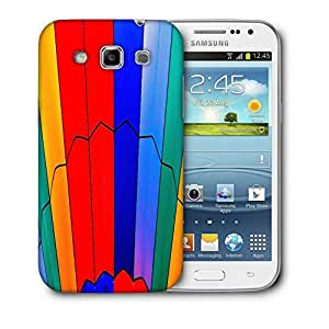 Snoogg Abstract Colors Designer Protective Back Case Cover For Samsung Galaxy Win i8552