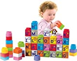 51UHAKXuGuL. SL160  Fisher Price Little People Builders Stack n Learn Alphabet Blocks