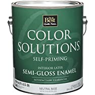 Color Solutions Self-Priming Latex Semi-Gloss Interior Wall Paint-INT S/G NEUTRA