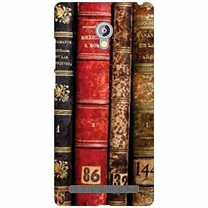Asus Zenfone 6 A601CG Back Cover - Old Books Designer Cases