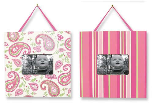 Trend Lab Two Picture Frame Set In Paisley Park front-262250