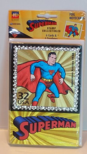 Superman Stamp Collectibles